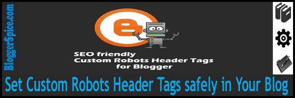 seo custom robots header tags