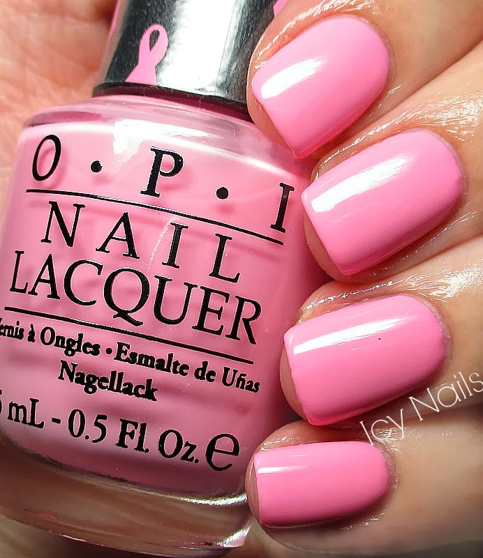 OPI Pinking Of You: Swatch And Review
