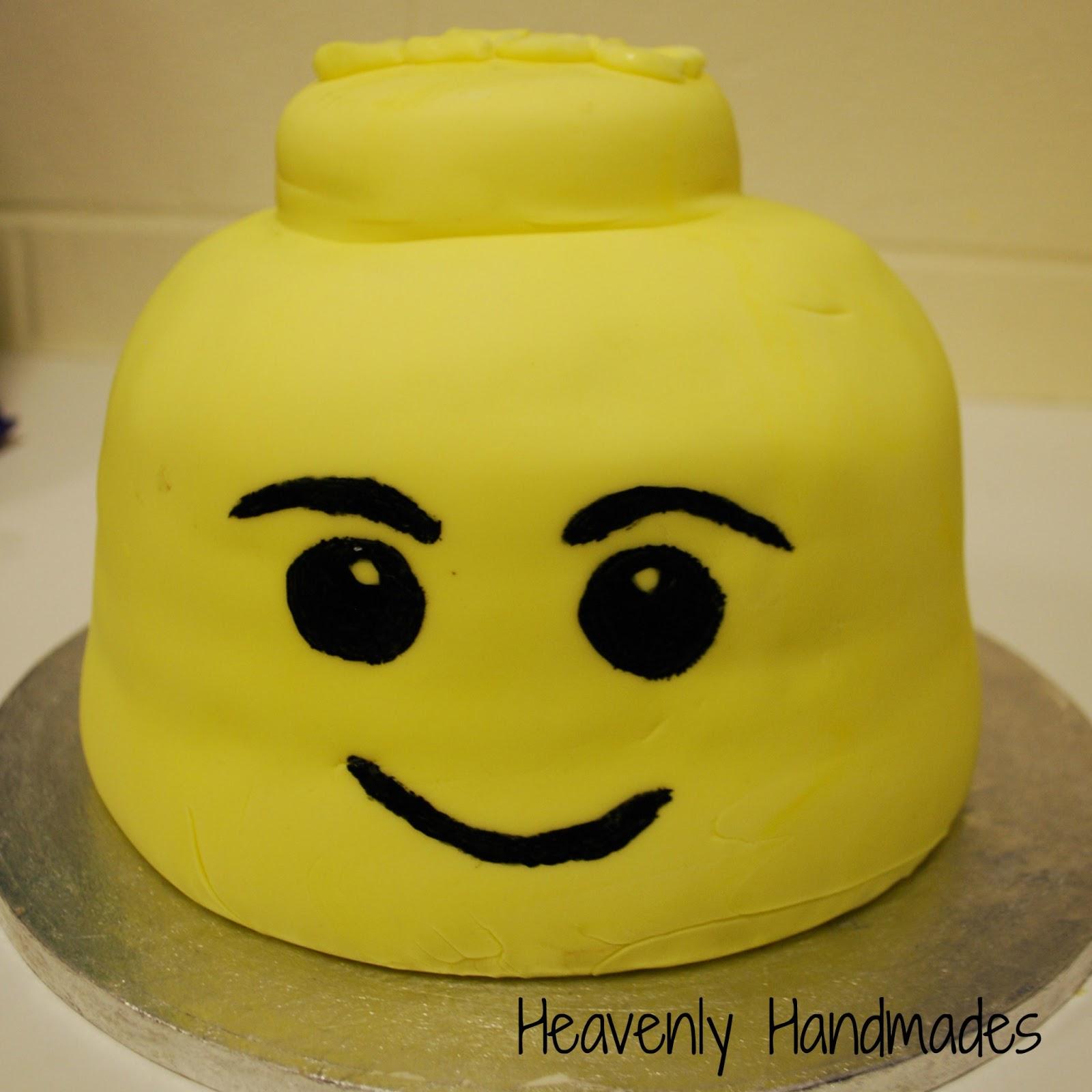 Lego Man Birthday Cake Tin