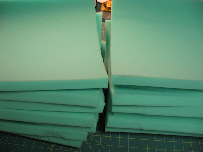 Easy Seat Cushions ~ A Tutorial