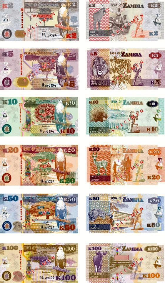 The Bank of Zambia (BoZ) has now received images of the new banknotes