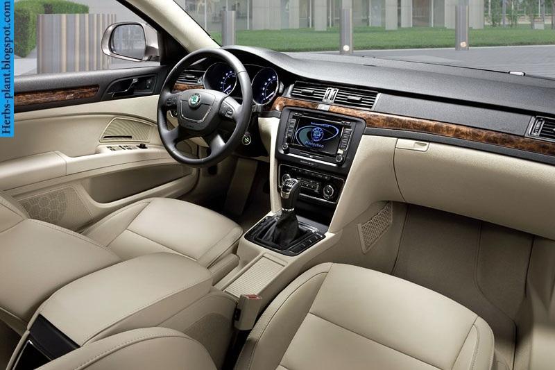 Skoda superb car 2013 interior - صور سيارة سكودا سوبيرب 2013 من الداخل