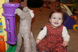 Norah 10 months!