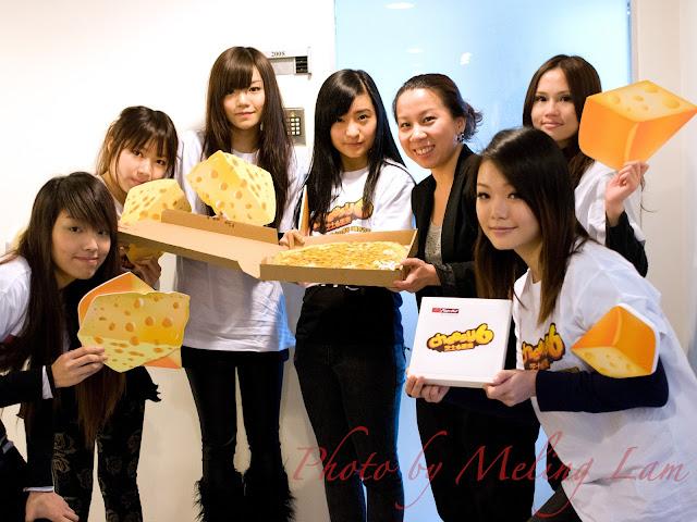 pizza hut cheesy 6 芝士6重奏 薄餅