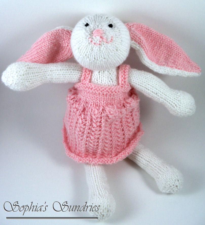 Zoe Bunny for Operation Christmas Child Sophias Sundries