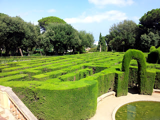 Cypress Hedge Maze in Barcelona
