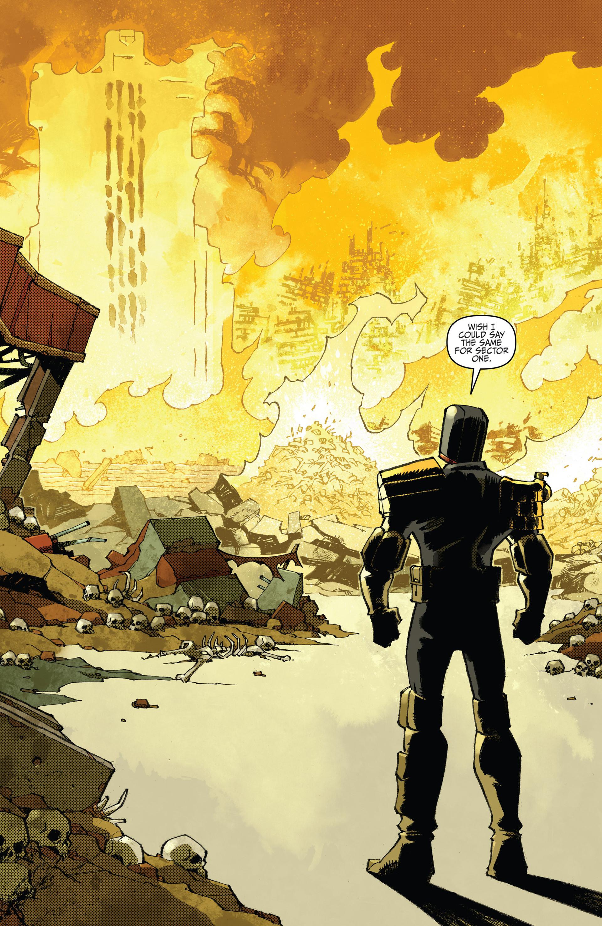 Read online Judge Dredd (2012) comic -  Issue #23 - 21