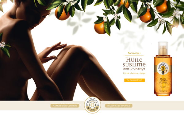 Huile Sublime Bois d'Orange Roger & Gallet