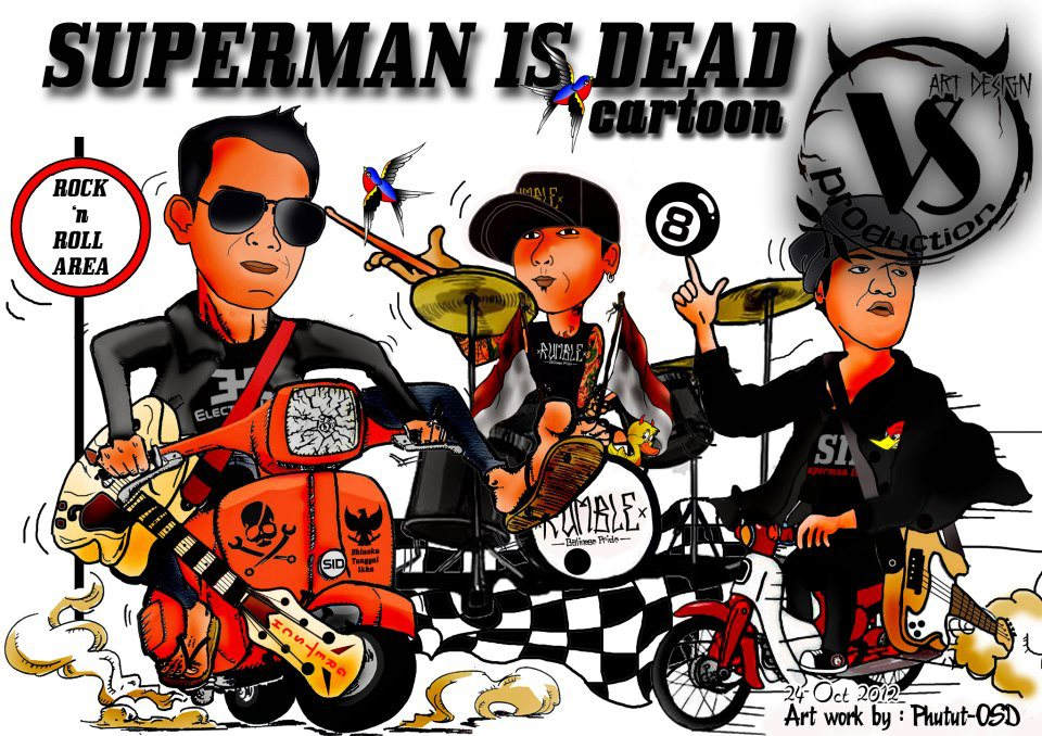 Kaos superman is dead outsider