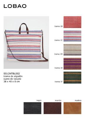 Dossier-Catálogo de bolsos y tramas