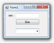 Görsel Programlama - ComboBox Kullanımı (C#)