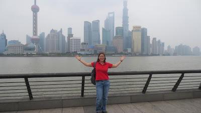 Barbara mal wieder in Shanghai
