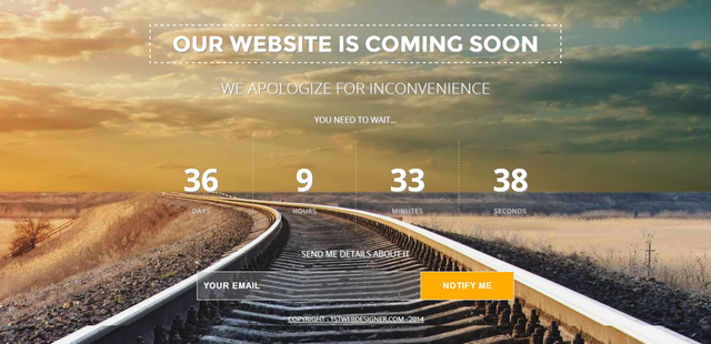 Final Countdown: Adding a Countdown Timer on the Coming Soon Page