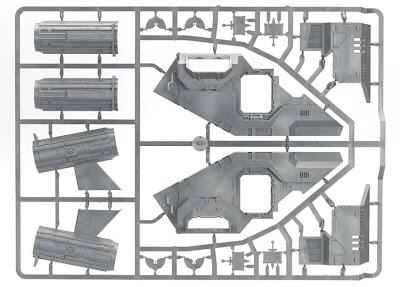 Matriz 2 Cañonera Stormraven de los Marines Espaciales