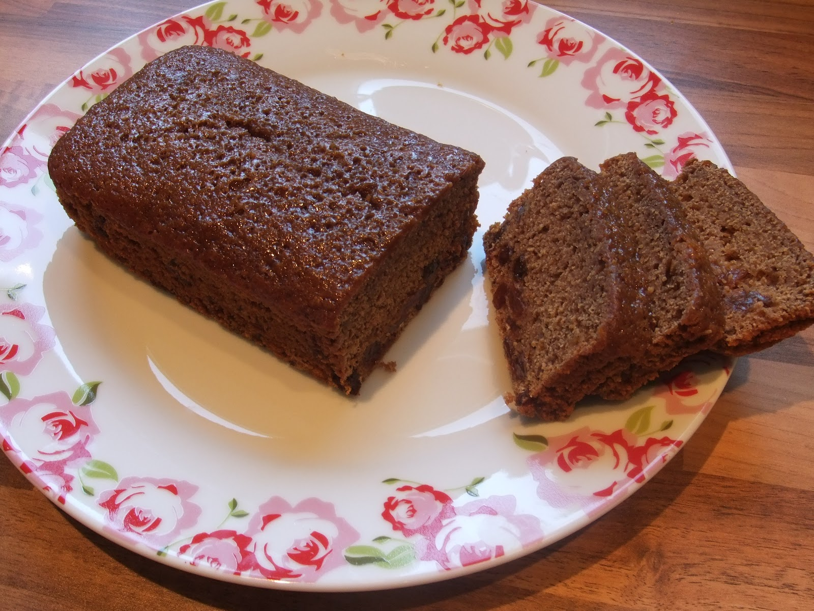 Sticky Malt Loaf - quick, grab the butter!