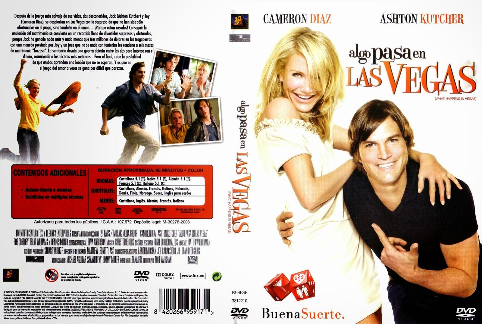 Algo Pasa En Las Vegas DVD