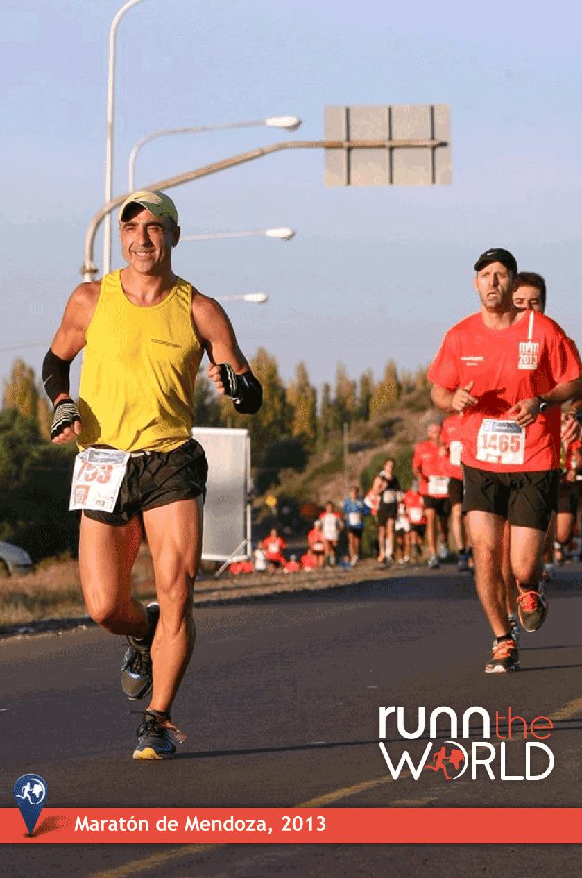 Maratón de Mendoza 2013