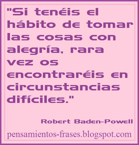 frases de Robert Baden-Powell