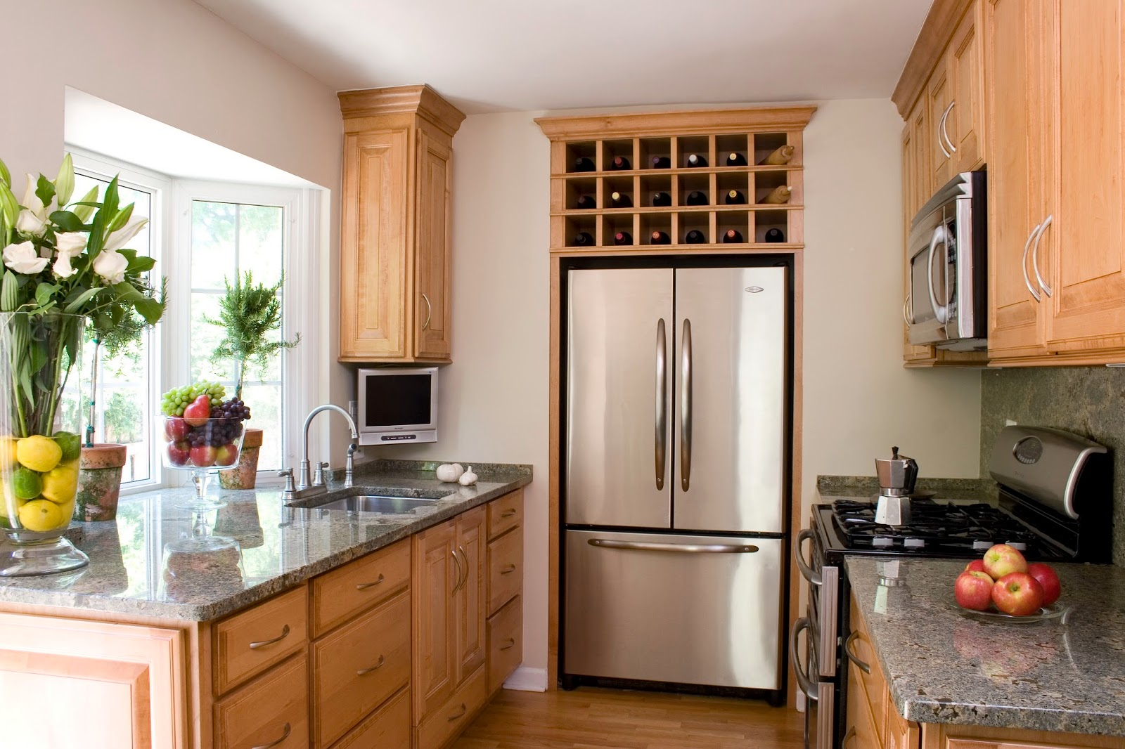 ... Because My Kitchen Is Featured On About.com Small Spaces! Take A Peak.  Just As Important, Rue, I Made The Burritos From Your Post The Other Day  And They ...