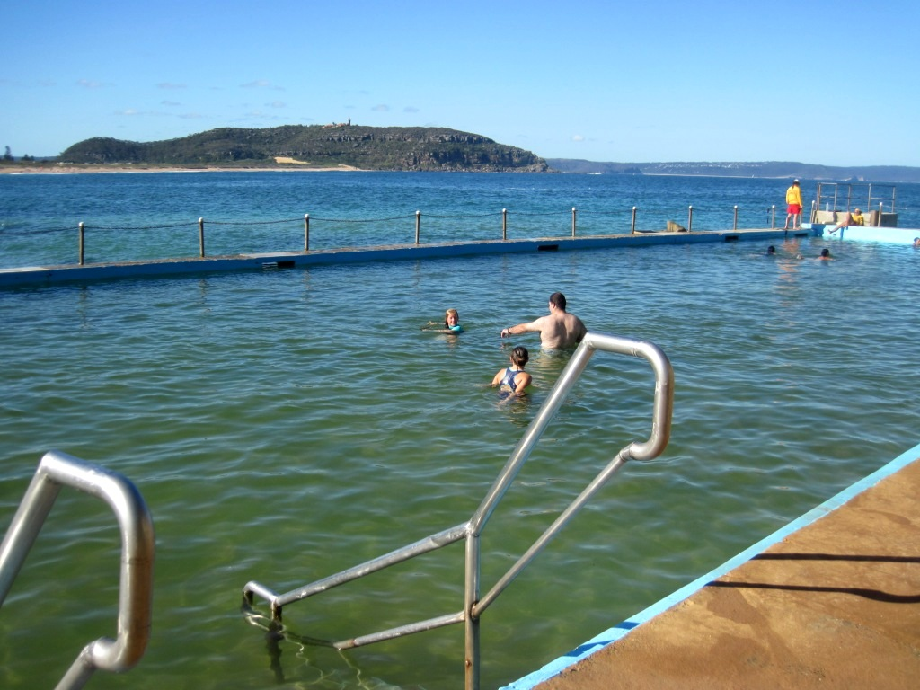 Swimming palm beach ocean pool 6 jan 2013 - Palm beach swimming pool ...