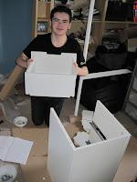 Alexander building flat pack furniture