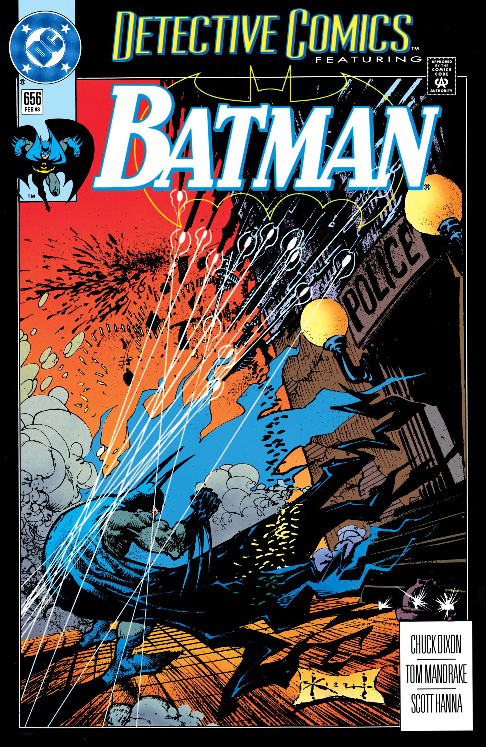 Detective Comics (1937) 656 Page 1