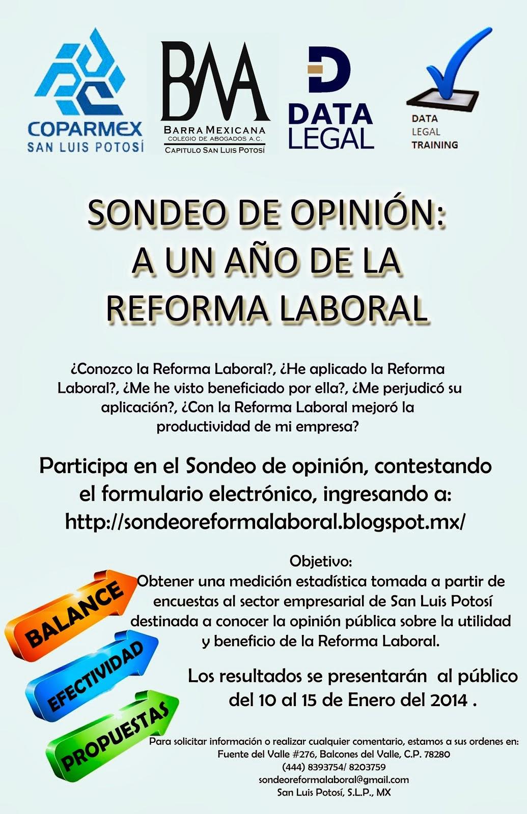 """Conclusiones """"A un año de la Reforma Laboral"""""""