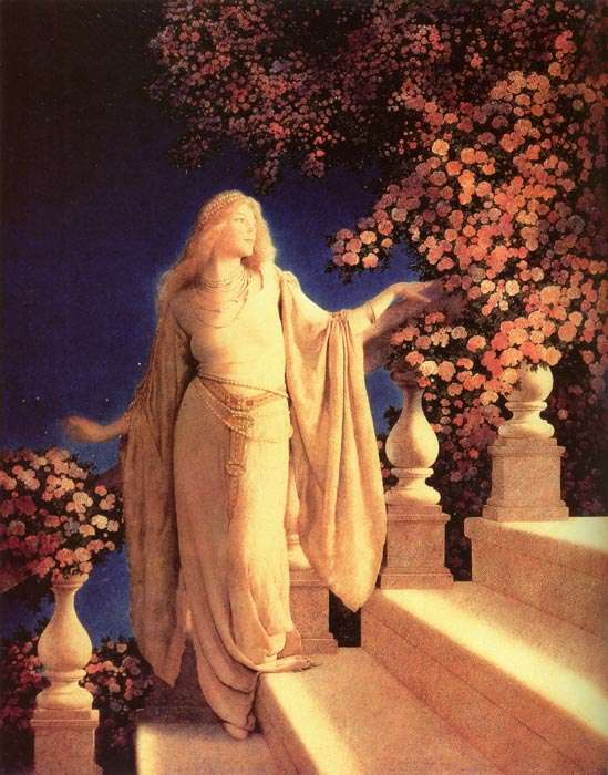 maxfield parrish cinderella