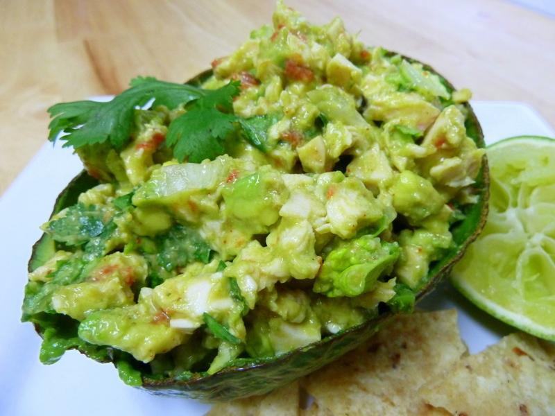 Cookin' Cowgirl: Avocado Chicken Salad in Avocado Boats