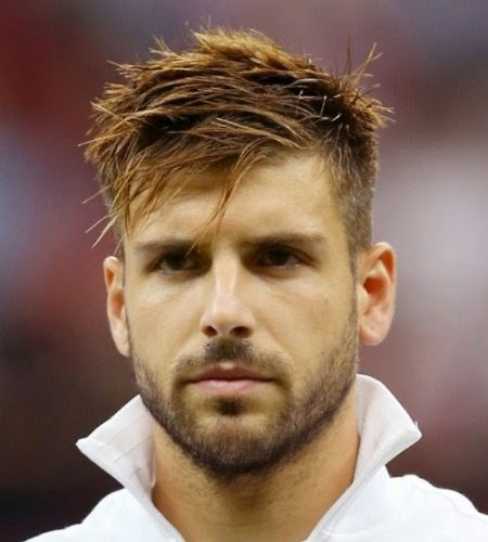 Men S Hairstyles Trendy Football Stars Hairstyles