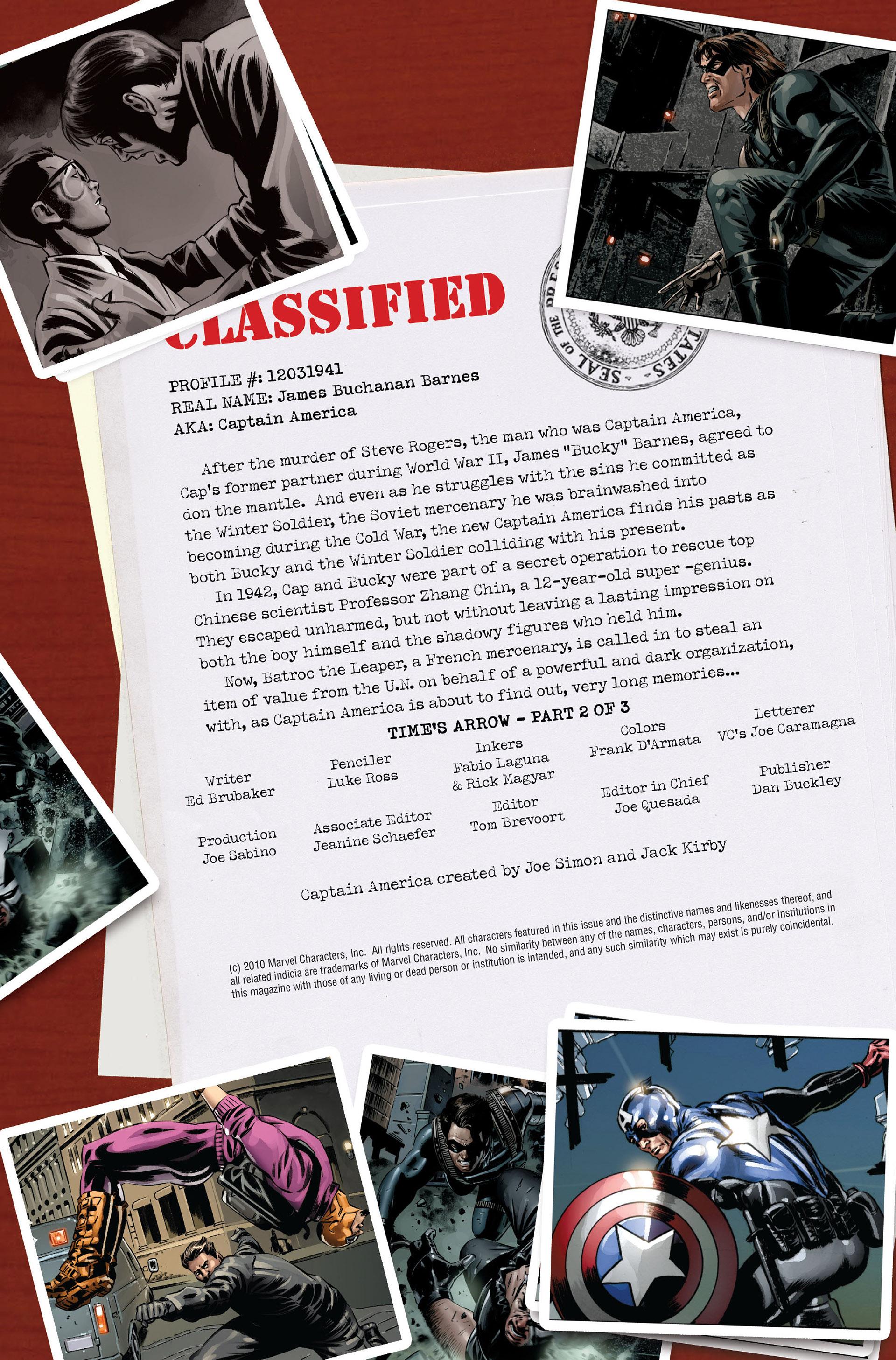 Captain America (2005) Issue #44 #44 - English 2
