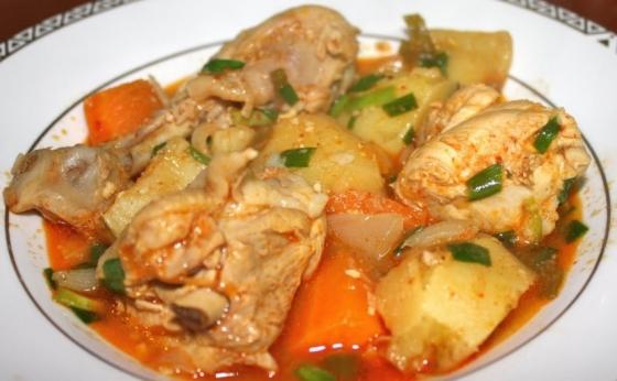 Dakdoritang -Tocanita de pui cu legume