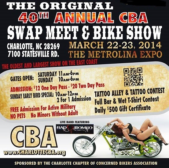 motorcycle swap meet charlotte nc 2014