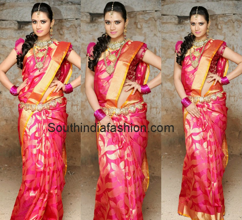 sunitha rana traditional saree