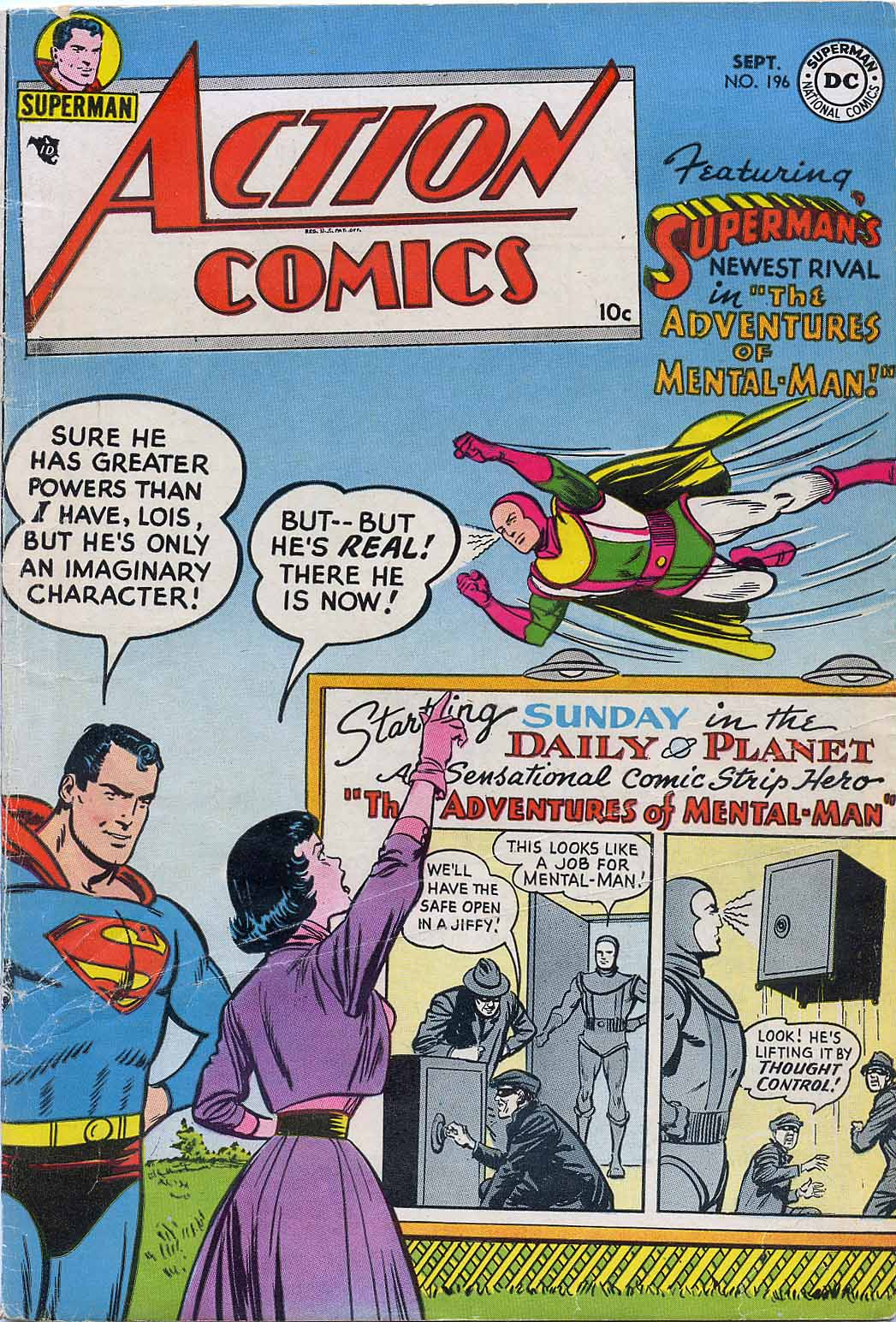 Action Comics (1938) 196 Page 1