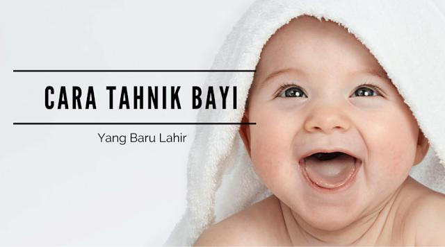 Cara melakukan tahnik bayi