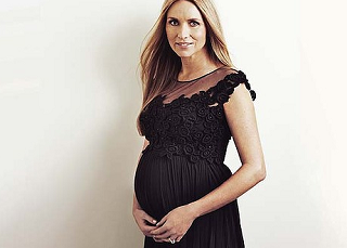 Collette Dinnigan, Pregnant at 46