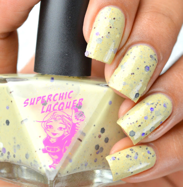 Superchic Lacquer Bad to the bone