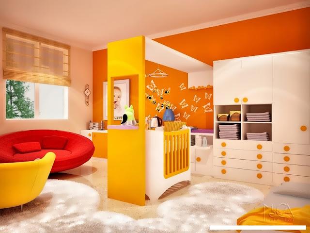 desain rumah minimalis child bedroom design for comfort