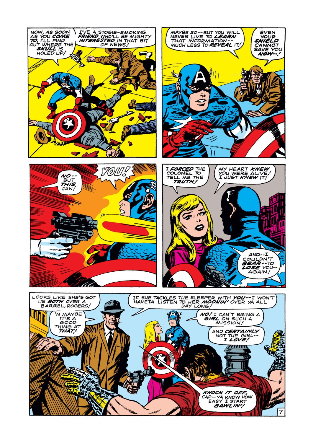 Captain America (1968) Issue #102 #16 - English 8