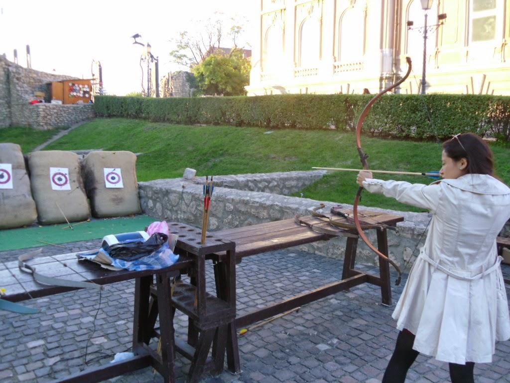 Atirar de arco e flexa em Budapeste
