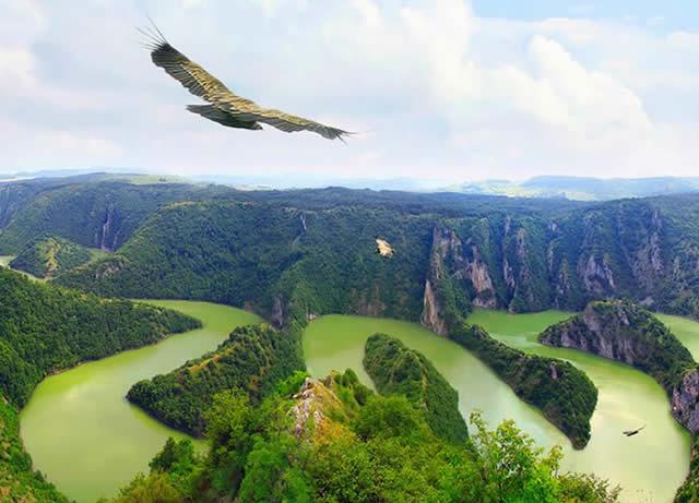 Rio Uvac - Sérvia