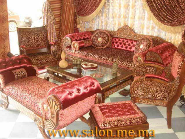 Salon marocain d coration maison 2014 for Decoration fenetre marocaine
