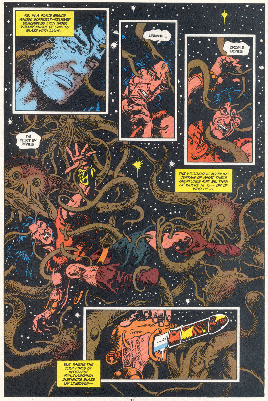 Conan the Barbarian (1970) Issue #272 #284 - English 10