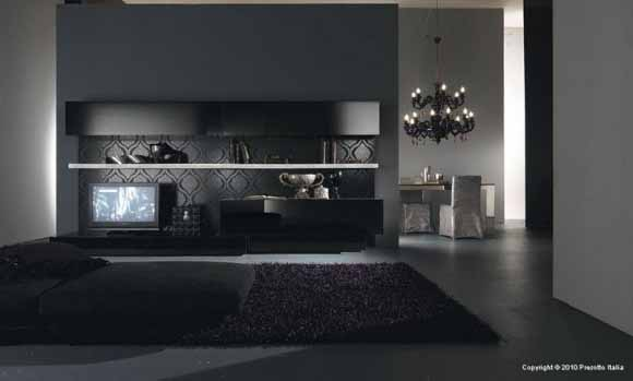 Desain Interior Ruang Tamu Modern Dari Presetto Italia