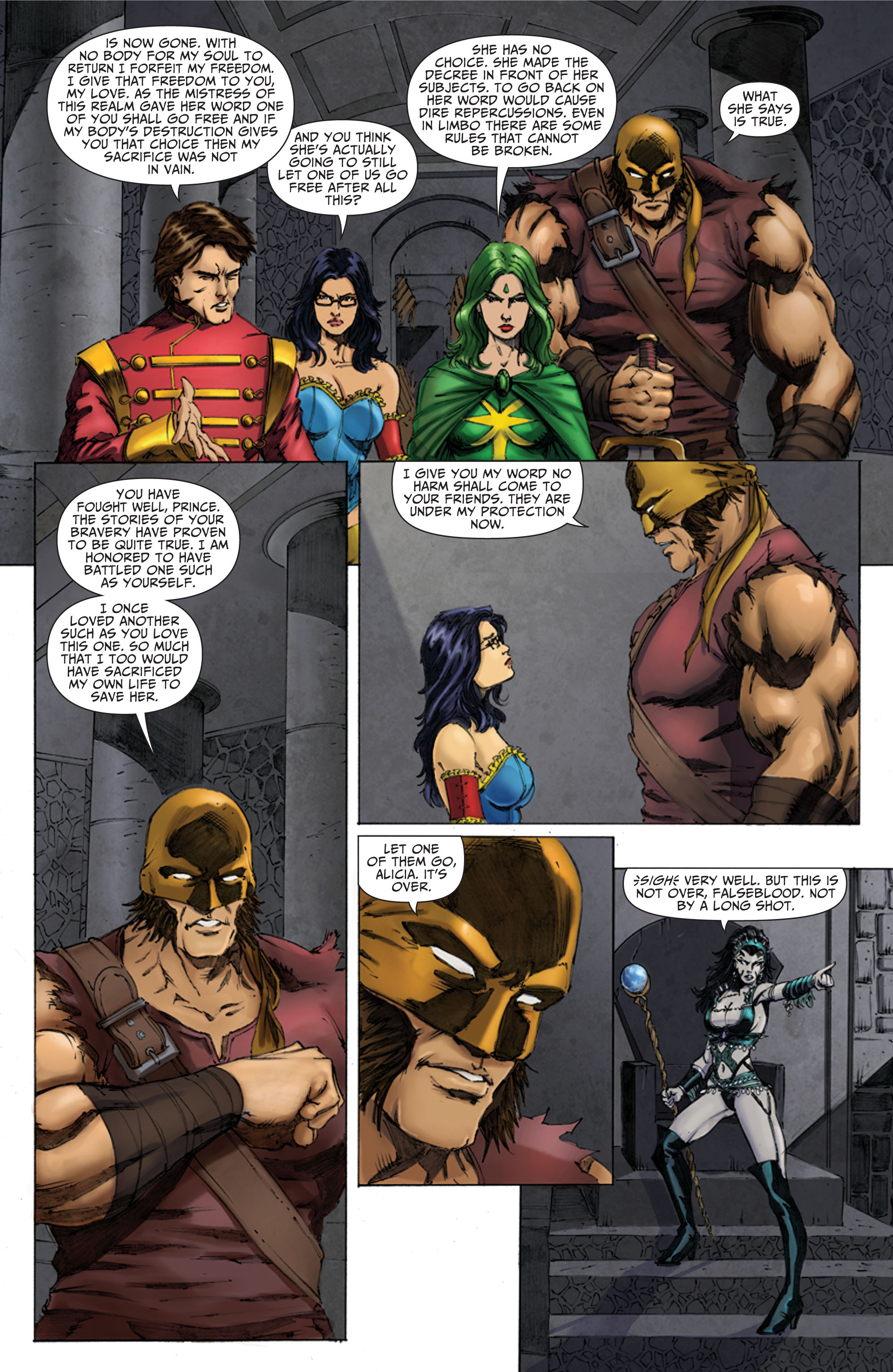 Grimm Fairy Tales (2005) Issue #70 #73 - English 21