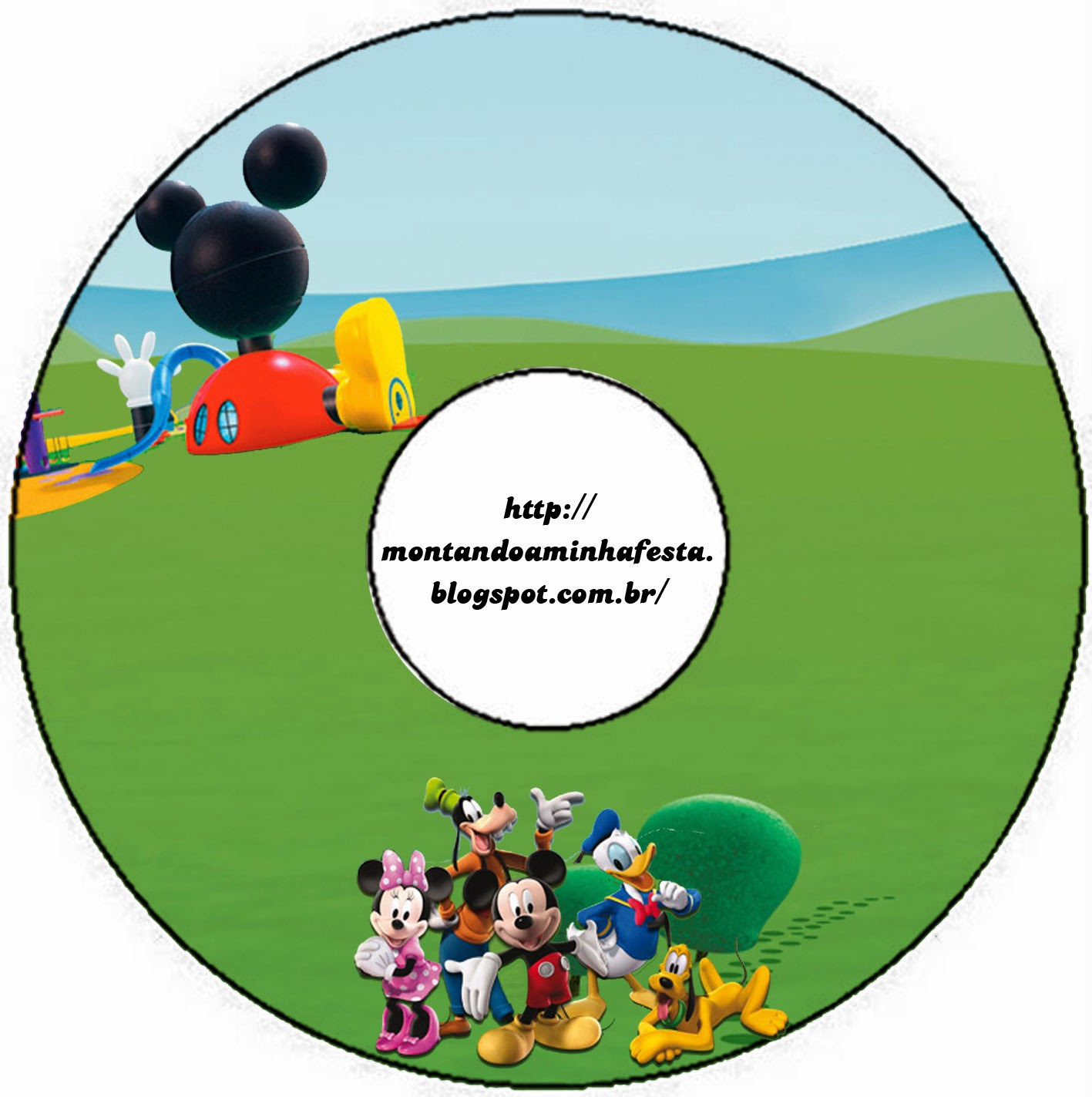 Mickey Clubhouse Free Printables