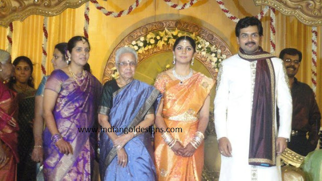 Hairstyle Coiging Karthik And Ranjini Wedding Reception