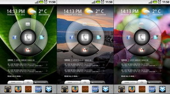 Customize your Android Homescreen using Slick UI - an Android Homescreen-replacement interface