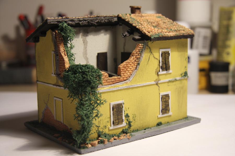 Costruzioni ferroviarie casello diroccato ii for Cabine vecchio stile